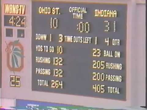 Image result for indiana ohio state 1987 darkest day