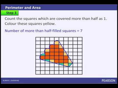 ... irregular figure using a : Area Of Irregular Figures Worksheet 4th