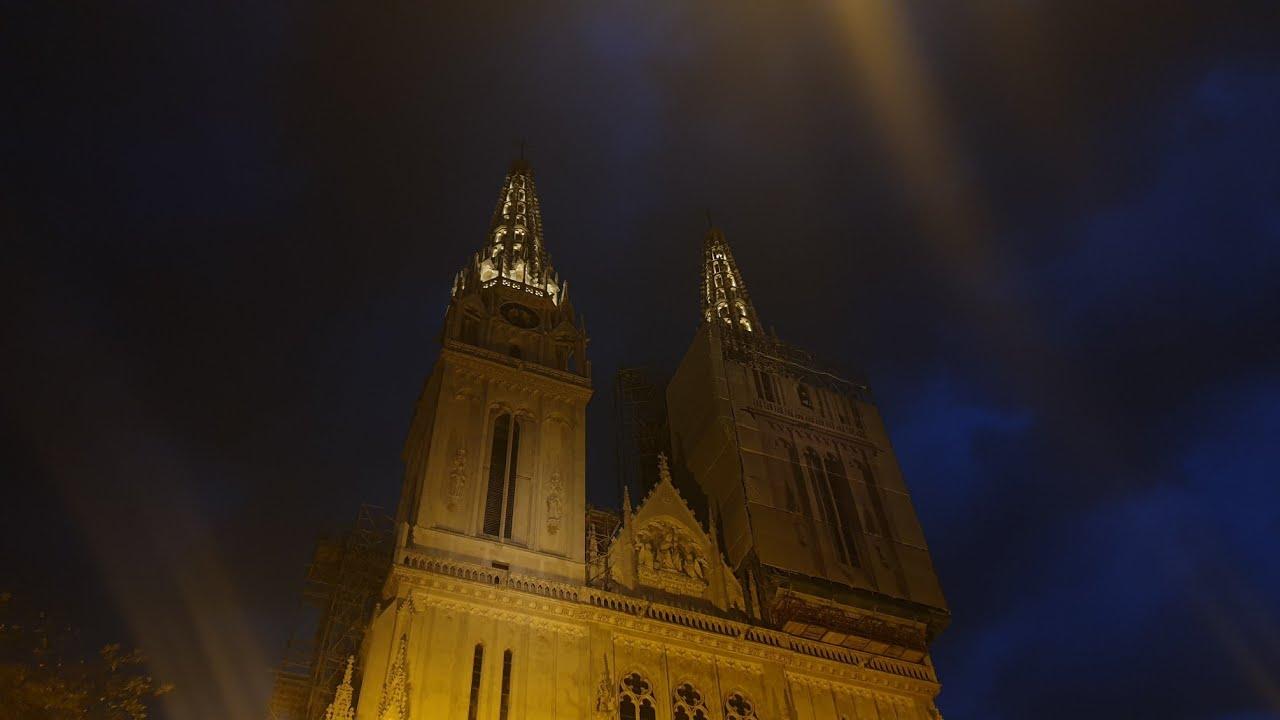 Katedrala Uznesenja Bdm Zagreb 19 00 Youtube