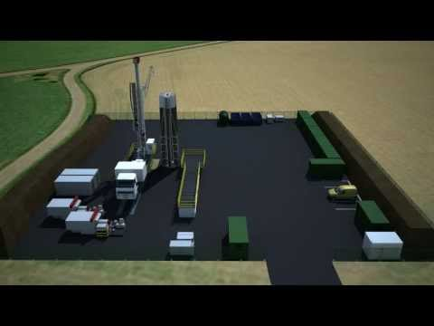 Dart Energy CBM Pilot Cluster, Gas Distribution & Water Treatment Facility