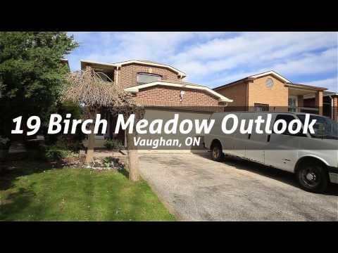 19 Birch Meadow Outlook, Vaughan, ON
