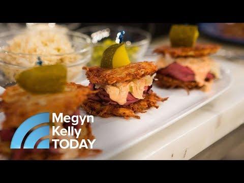 Author Jamie Geller Makes Reuben And Breakfast Latkes For Hanukkah | Megyn Kelly TODAY