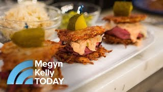 Author Jamie Geller Makes Reuben And Breakfast Latkes For Hanukkah | Megyn Kelly TODAY