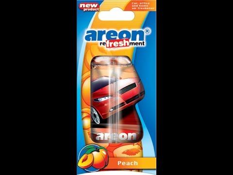 Автомобильный ароматизатор Areon Liquid Peach  Персик