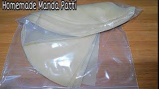 Samosa Patti Recipe-Manda Patti-Roll Patti recipes-Homemade Samosa Patti and Roll Patti Recipes