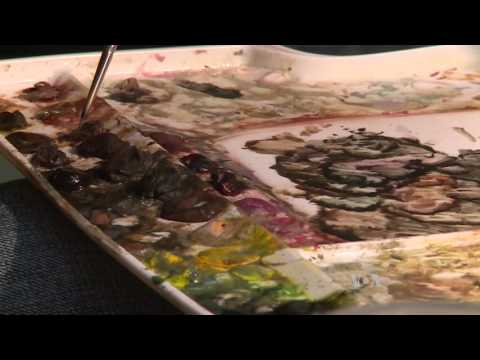 Painting Captures President Lincoln Assassination Aftermath