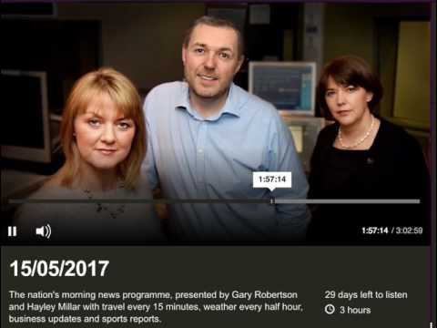 BBC Good Morning Scotland Radio Interview (15 May 2017) - Ransomware