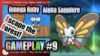 Pokemon Omega Ruby/Alpha Sapphire Gameplay #9 - Escape the Forest!