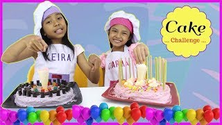 CAKE CHALLENGE !!! ♥ Cake Decorating For Kids Special 500K Subscribers