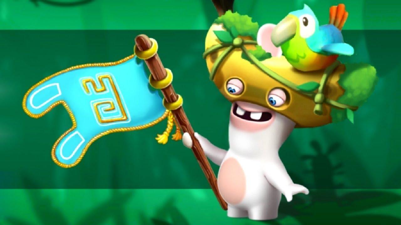 Mario + Rabbids - Donkey Kong Adventure DLC Walkthrough Part 12 - Jungle Challenges