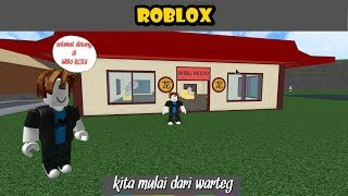 Ristorante Tycoon ( Rags to Riches ) #1 - Roblox Indonesia
