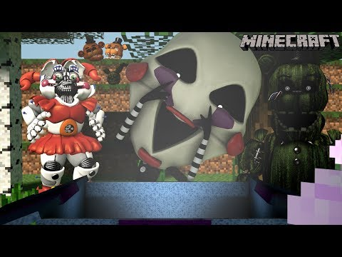 Minecraft FNAF Universe Mod Survival  The Puppets  Box EP 14