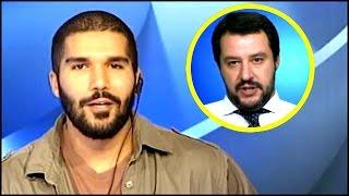 Combattente Karim Franceschi vs Matteo Salvini