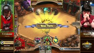 Tiddler Celestial vs. Kranich - Semi-finals - Hearthstone World Championship 2014