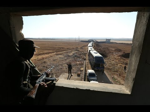 دخول حافلات لإجلاء سكان من كفريا والفوعة  - نشر قبل 4 ساعة