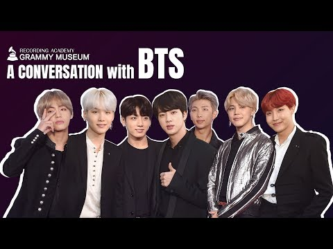 BTS On Songwriting Success & Their Fans  GRAMMY Museum