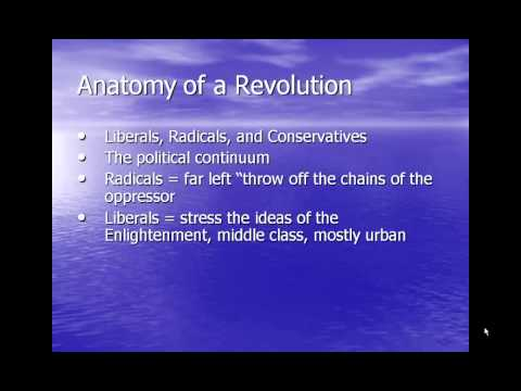 Why Revolutions Happen