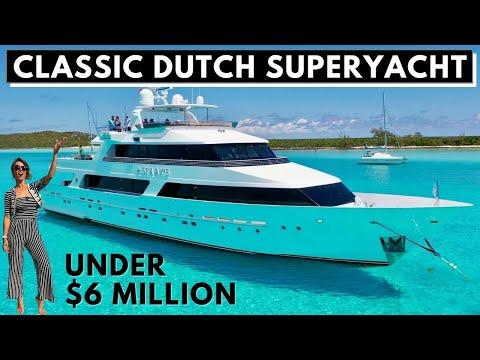 5,9 млн долл. 1986 125 '38 м HEESEN Sea Axis CLASSIC SUPERYACHT ПРОХОДКА И СПЕЦИФИКАЦИИ / Чартерная