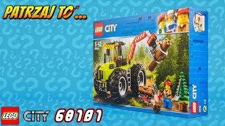 👍👍🌲🚜🌲Lego City 60181 Traktor Leśny - Forest Tractor. Recenzja klocków Lego z 2018 roku.🌲
