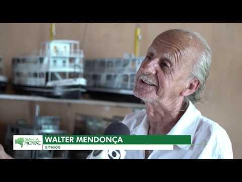 "TV Bahia - Programa Bahia Rural: ""Artesão Walter Mendonça"" | Bom Jesus da Lapa-BA (12 jan 2020)"