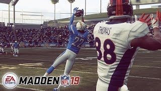 Madden 19 FINAL BUILD Gameplay! You'll Never Believe The Ending...