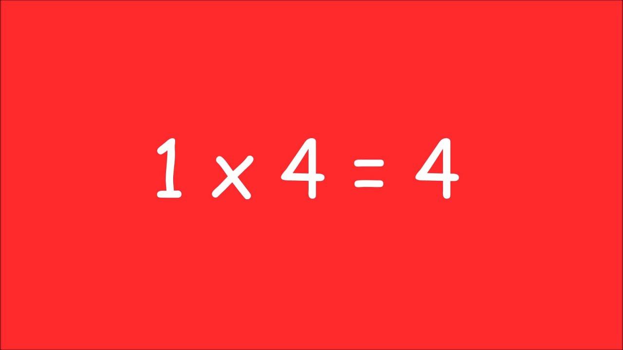 Table de multiplication de 1 exercices youtube - Youtube table de multiplication ...