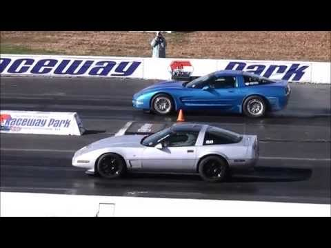 DRAG RACING: CORVETTES AT ENGLISHTOWN NEW JERSEY