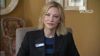 Cate Blanchett 'bewildered' by silence on Myanmar's Rohingya crisis