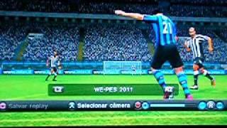 PES 2011(Ps3) - Gol de Alexandre Pato 50m Crack Master League