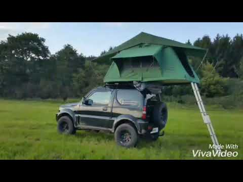 suzuki jimny mit primetech wasteland dachzelt. Black Bedroom Furniture Sets. Home Design Ideas