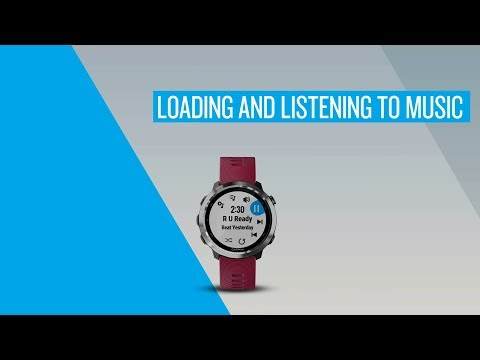 Loading and Listening to Music on Your Garmin Watch