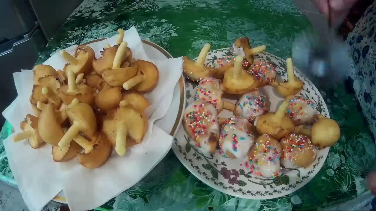проект печенье грибочки во фритюре рецепт с фото пусть всегда
