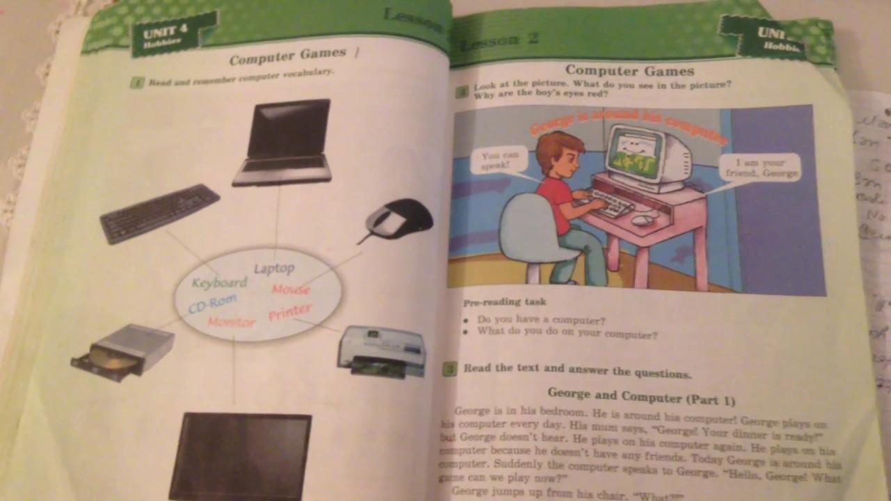 4 Cu Sinif Ingilis Dili George And Computer Tercume