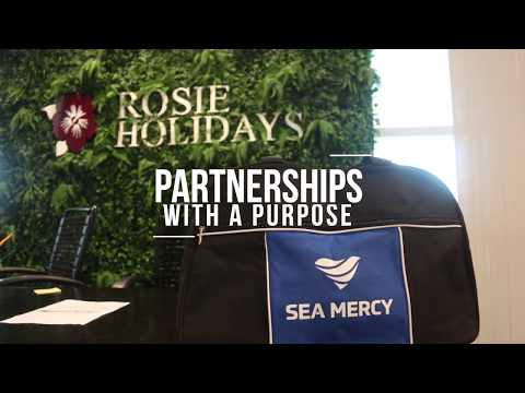 Partnership with Rosie Holidays | SEA MERCY
