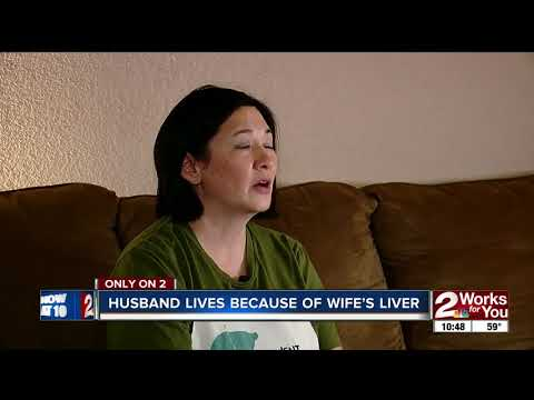 Husband survives deadly liver disease with part of wife's liver