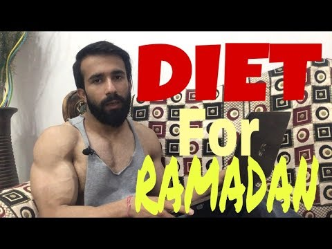 Diet Plan for RAMADAN by Tarun Kapoor Fitness - How to maintain Muscles during Ramadan