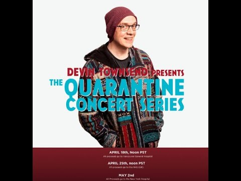 Devin Townsend announces some livestreamed 'Quarantine Concerts' for charities