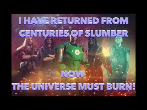 Gloryhammer-Goblin King from the Darkstorm Galaxy (lyrics video)