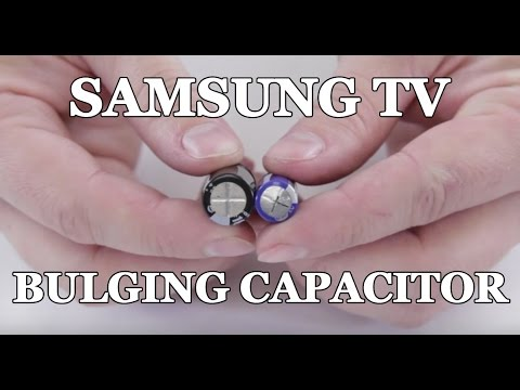 Samsung TV Won't Turn On – How to Repair Bulging Capacitor for Clicking Noise