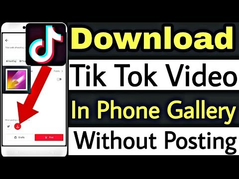 Download How To Download Tik Tok Musically Videos In Phone Gallery