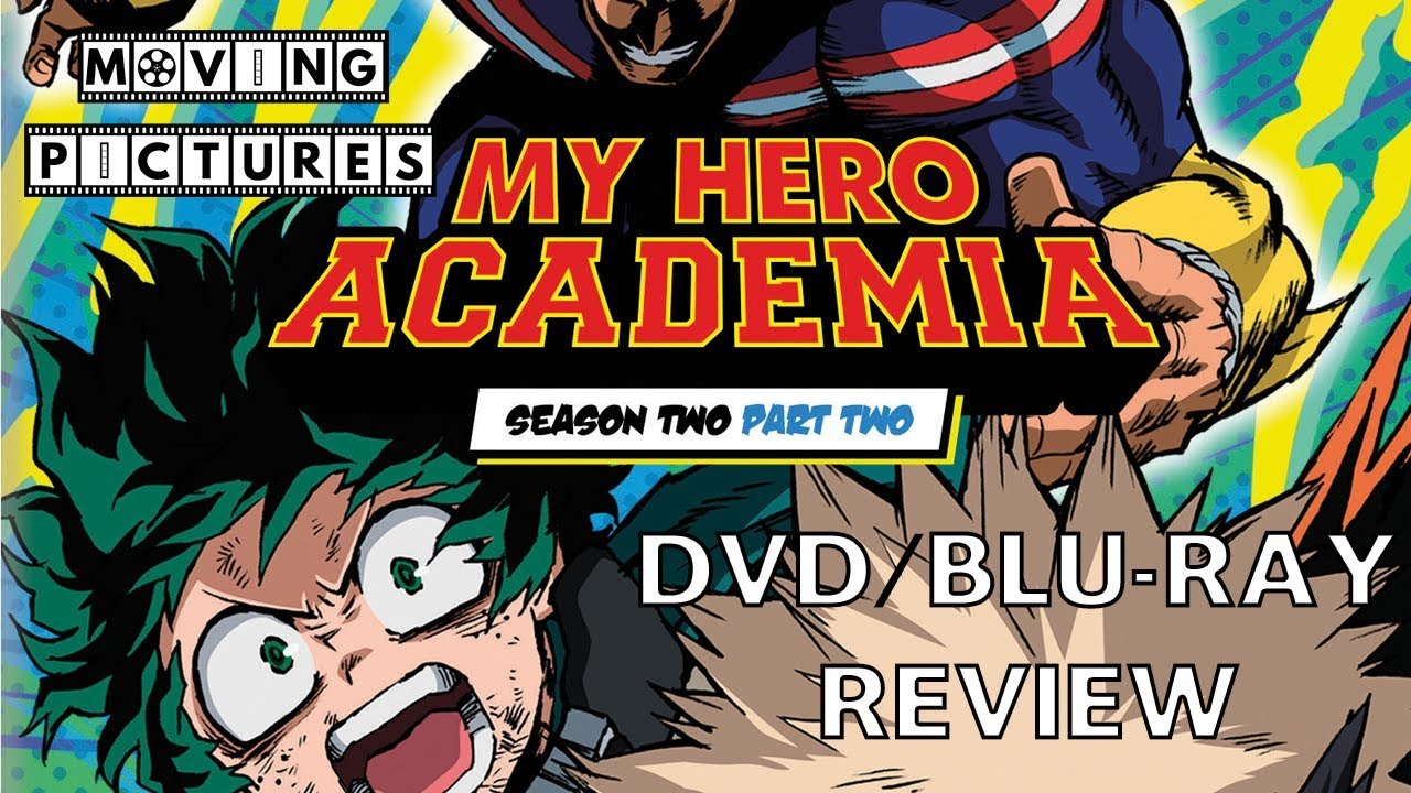 My Hero Academia Season 2 Part 2 DVD Review