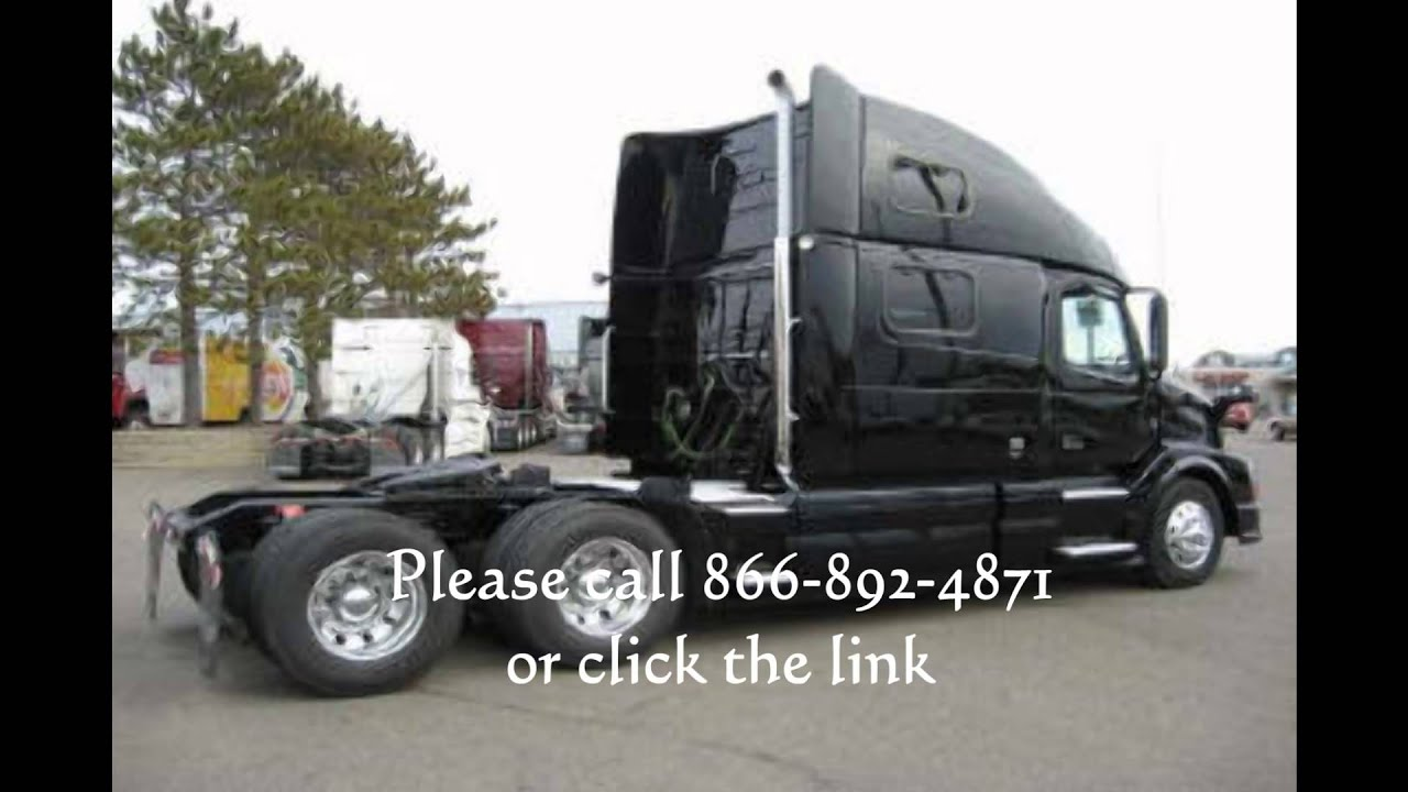 volvo semi trucks for sale multiple units 780 39 s youtube. Black Bedroom Furniture Sets. Home Design Ideas