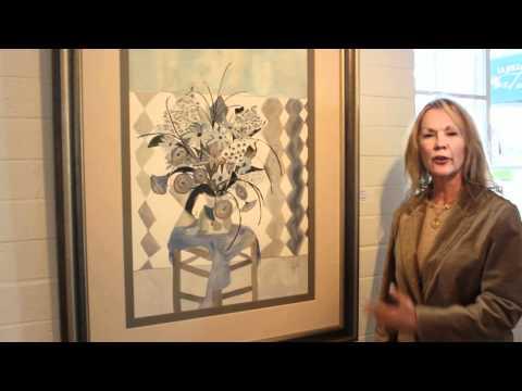 Blooms Exhibit at La Jolla Art Association Gallery / Margot Wallace - Artist