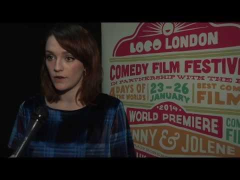 Benny & Jolene - World Premiere - Interviews Jamie Adams & Charlotte Ritchie