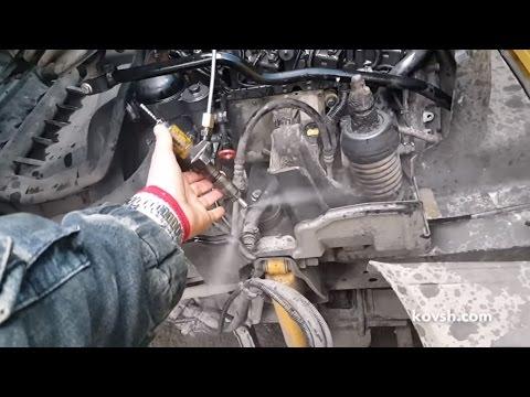 Причина неработающего цилиндра Mercedes Benz Atego 4.3d и как ее определить