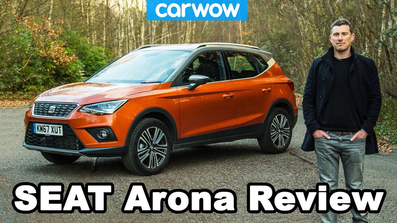 seat arona suv 2019 in depth review carwow reviews youtube. Black Bedroom Furniture Sets. Home Design Ideas