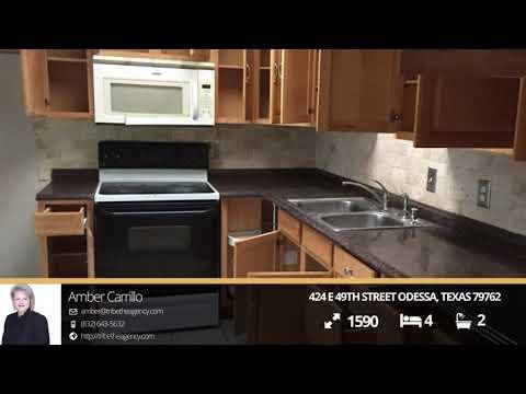 424 E 49th Street Odessa, Texas 79762   Amber Carrillo   Top Real Estate  Agent