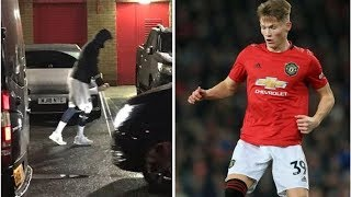 Man Utd star Scott McTominay leaves Old Trafford on crutches: Injury 'doesn't look good'- transfe...