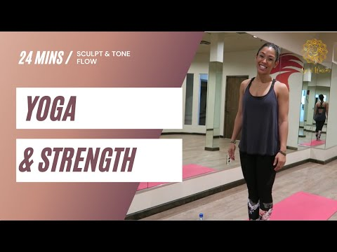 Yoga & Strength  Sequence