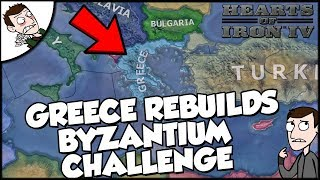Hearts of Iron 4 HOI4 Greece Reforms the Byzantine Empire Challenge